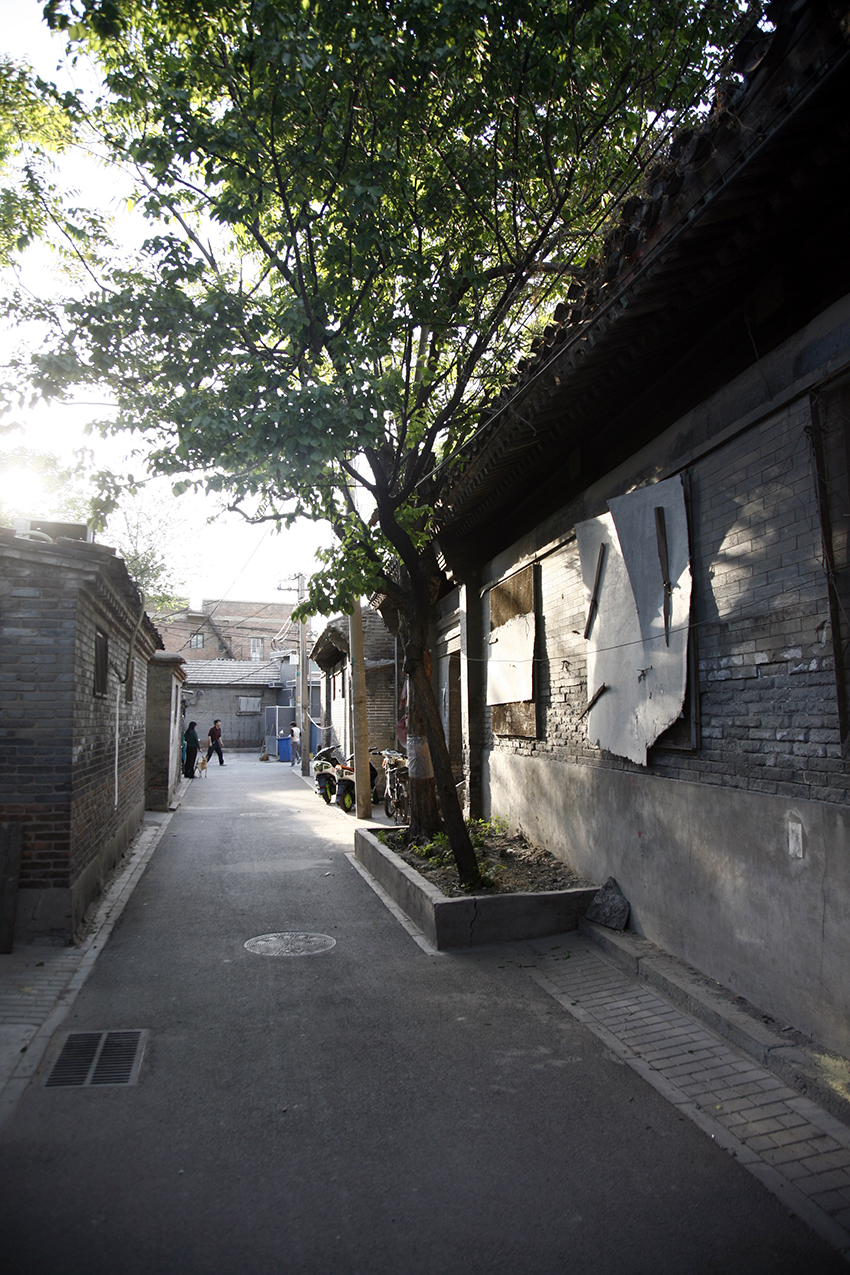 Qianmen alleyway in 2013. Photo courtesy of URB.