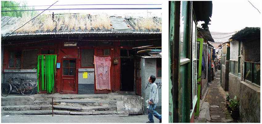 Qianmen Building Stock, documented in field survey reports. Photo courtesy of URB.