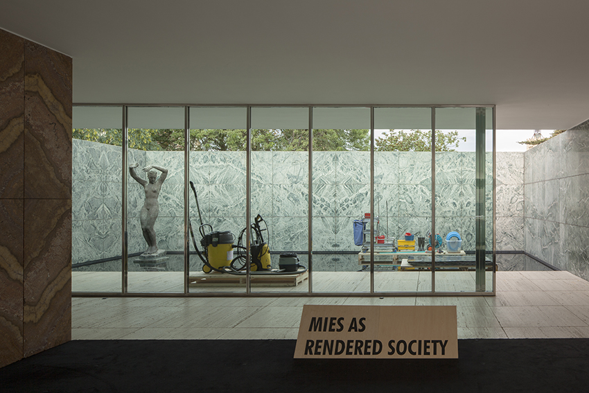 PHANTOM. Mies as Rendered Society. Photo: Miguel de Guzmán