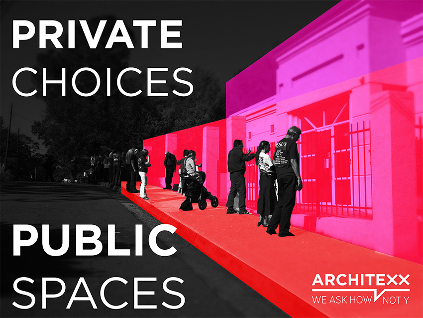Private Choices Public Spaces design action call. Image courtesy of ArchiteXX