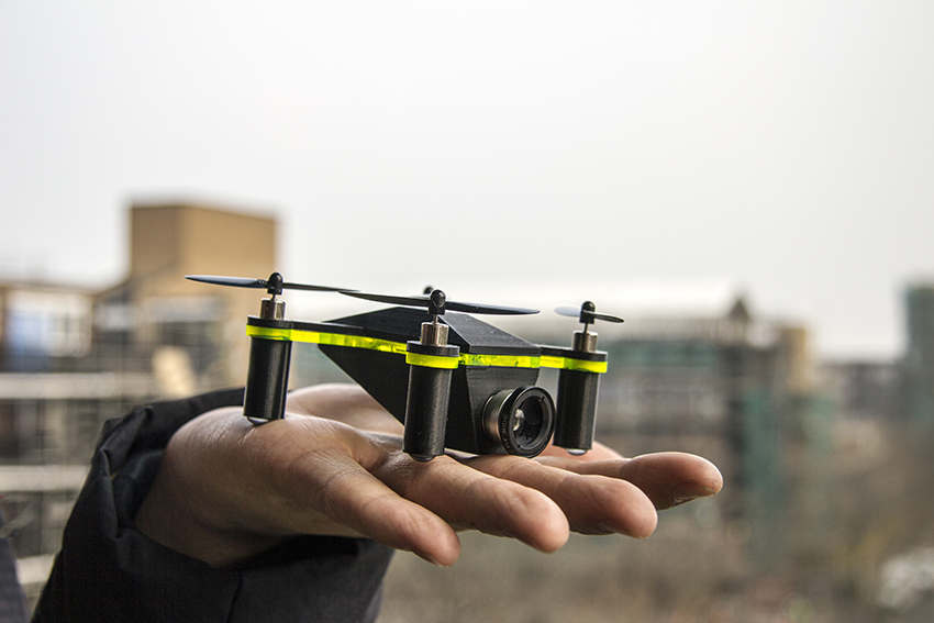 FlyCam Instadrone. Image courtesy of Superflux.